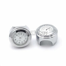 "7/8"" 1"" Clock Thermometer Fit Kawasaki Vulcan VN 900 1500 1600 1700 2000 Classic"