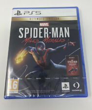 PS5 Marvel's Spider-Man, Miles Morales, Ultimate Edition Brand New & Sealed
