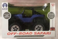 New Jeep full radio control Off Road Safari Blue Car lights by Blue Hat