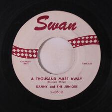 DANNY & JUNIORS: A Thousand Miles Away / Twistin' U.s.a. 45 Vocal Groups