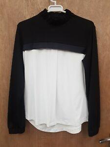 NEW SOFTSHELL ** MICHAEL & KENZIE ** DESIGNER SHOW SHIRT DRESSAGE STOCK SIZE 10