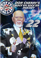 Don Cherry's Rock Em Sock Em Hockey 22    (DVD) DISC & COVER ART ONLY NO CASE