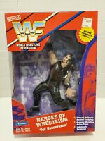 "NIB JAKKS VTG 1997 HEROES OF WRESTLING UNDERTAKER 9"" WWF FIGURE LIMITED NEW WWE"