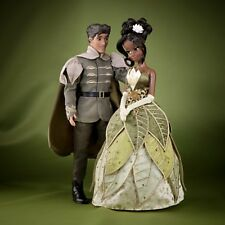 Disney Tiana and Prince Naveen Doll Set - Disney Fairytale Designer Collection