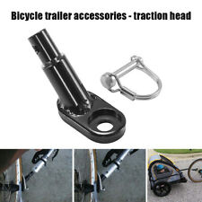 Bike Trailer Hitch Coupler Bicycle Attachment Angled Elbow Trailer Hitch Mount