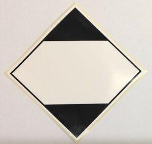 50 Limited Quantity Road & Sea DGR IATA Hazard Labels Stickers 100x100 PPI-LQ-RS