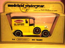 Matchbox Models of Yesteryear Y-5 1927 Talbot