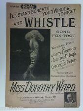 Miss Dorothy Ward Silbato (Fox Trot, 1922)