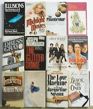 12 books POPULAR NOVELS BEST SELLERS Great Stories Lot #A213 Free US S/H