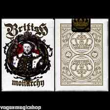 British Monarchy King Henry VIII Deck Playing Cards Poker USPCC Custom Limited