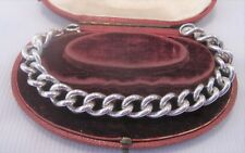 Bracciale BORDO pesanti in argento solido