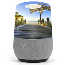 Skin Decal Vinyl Wrap for Google Home stickers skins cover/ The Beach Tropical
