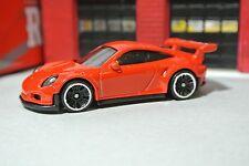 Hot Wheels Porsche 911 GT3 RS - Red - Loose - 1:64
