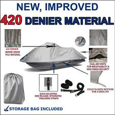 420 DENIER Polaris Pro 1200 785 SLX 2000 01 Jet Ski Cover Grey 1-2 seat