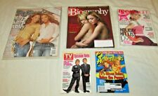 LOT 5 Mary-Kate & Ashley Olsen twins magazines TV Guide Disney Vogue Rolling