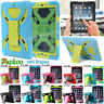 100% Pepkoo Sipder Armor Silicone Shockproof Stand Cover Case For iPad Mini4