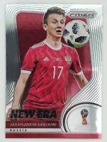 2018 Panini Prizm World Cup Aleksandr Golovin New Era Prizm Card