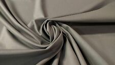 """PEWTER GRAY 100% COTTON CANVAS DUCK FABRIC BY THE YARD 56""""W UPHOLSTERY DWR SOFT"""