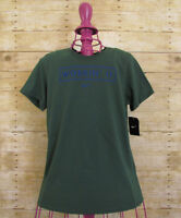 Nike Women's Size Large Green 'Workin It' Athletic Cut Graphic Tee Shirt Top NWT