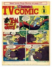 TV Comic 1144 (Nov 17 1973) Doctor Who, Pink Panther, Tarzan. Laurel & Hardy...