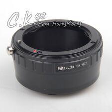 Nikon Lens to Sony NEX Adapter A7 A7R A7S A6300 A5100 A6000 5T 3N 6 5R F3 NEX-7