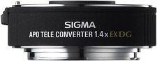 Sigma AF EX 1.4x Tele Converter DG APO Lens For Canon EOS DSLR (UK Stock) BNIB