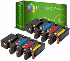 8 Remanufactured Toner Cartridges For Dell 1250 1250c 1350cnw 1355cn 1355cnw