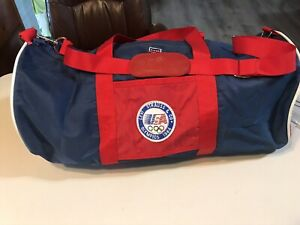 True Vintage Levi's 1984 US Olympic Athletic Duffel Bag Excellent Condition!