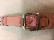 Authentic Fossil Product Women's Watch With Date And Leather Band JR 8620