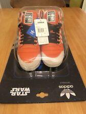 Adidas vintage Star Wars Luke Skywalker X-Wing pilot trainers boots size 7 U.K.