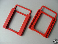2x  2.5 to 3.5 Inch SSD Notebook-HDD Hard Disk Mounting Adapter Bracket Holder