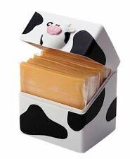 New listing Msc International 40701 Joie Moo Cow Cheese Slice Holder Pod 24-slice capacity.