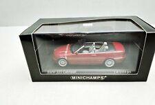 1:43..Minichamps--BMW 3-series Cabriolet 2000 siena red met. 028030 / 5 I 065