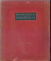 Richard Strauss ~ Der Rosenkavalier ~ Klavierauszug mit Text   gebunden