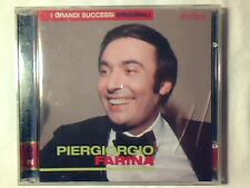 PIERGIORGIO FARINA I grandi successi originali 2cd PAUL ANKA COME NUOVO LIKE NEW