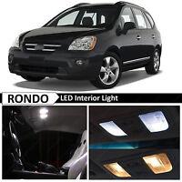8x White Interior LED Lights Package Kit for 2007-2013 RONDO CARENS