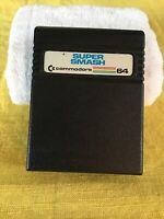 COMMODORE 64 SUPER SMASH GAME CARTRIDGE