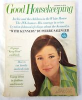 Good Housekeeping Magazine September 1966 Jackie Kennedy Vintage Advertising