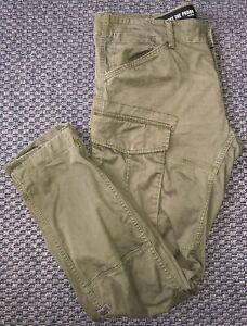 G Star Raw Khaki Trousers Size 38 Waist