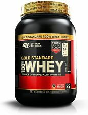 Optimum Nutrition Gold Standard Whey Protein Powder Muscle Building Supplements