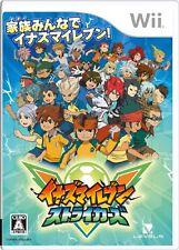 USED Inazuma Eleven Strikers Japan Import Nintendo Wii