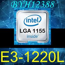 Intel Xeon E3-1220L Low-Power 2.2 GHz Dual-Core LGA1155 TDP 20W