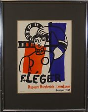 FERNAND LÉGER (French,1881-1955) Mourlot Paris Original Lithograph Print