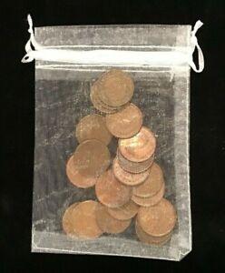 20 DIFFERENT KANGAROO HALF PENNYS + COIN BAG. Kids starter set.1938 to 1964