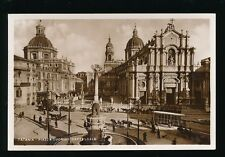 Italy CATANIA Piazza Duomo Cattedrale Cathedral c1900/10s? RP PPC