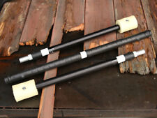 """5ft - Fire Spinning Staff, Collapsible / Breakdown - 1"""" Black Trick Concepts"""