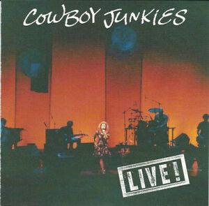 Cowboy Junkies : Live! (USA CD EP 1992) **NR. MINT** RARE/OOP! FREEUK24-HRPOST!!