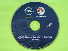 NAVIGATION OPEL CD 70 NAVI EUROPA 2015 ZAFIRA ASTRA CORSA SIGNUM MERIVA B TIGRA