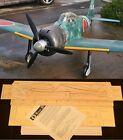 """62.5"""" Wingspan A6M5 ZERO R/c Plane short kit/partial kit and plans, PLEASE READ!"""