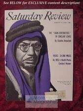 Saturday Review August 14 1954 MUHAMMAD ASAD SINCLAIR LEWIS CHARLES BREASTED